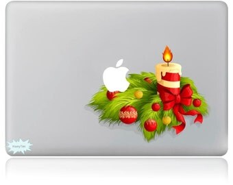 Christmas gift New Christmas decals mac stickers Macbook decal macbook stickers apple decal mac decal stickers 16