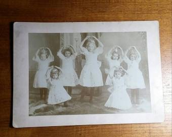 Antique 1910s Ballet Dance Photo