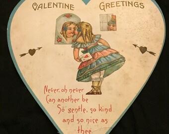 1920's Valentine Day Card
