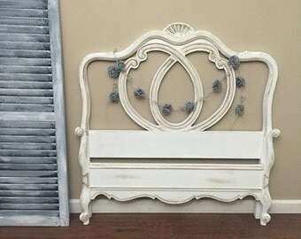 Gorgeous French Provincial Twin Bed Set