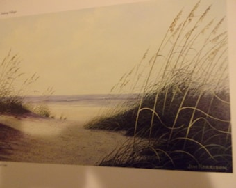 Sea Oats by Jim Harrison for the book Pathways to a Southern Coast