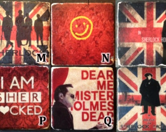 Sherlock Holmes (Mix and Match) Coaster or Decor Accent