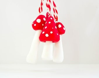 Little Toadstool Decorations