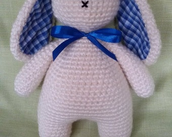 Free Shipping!! Easter toy, Crochet Easter rabbit, toy rabbit, gift bunny, gift, personalized toy,amigurumi toys.
