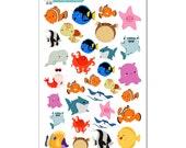 Nemo & Friends Stickers (Finding Nemo/Finding Dory) - Disney Planner Stickers