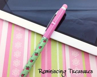 Cupcake Stylus Pen for Tablets, Smartphones and Touch Screen Devices