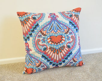 Bohemian/Hip Modern Cotton Linen Cushion/Pillow Cover in 18 x 18""