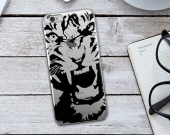 Tiger Iphone Case - Tiger Case - Tiger - Animal Print Case - Animal Print Iphone Case - Tiger Cellphone Case - Iphone Case - Christmas Gift