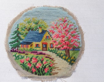 Vintage embroidery from the 1970's,