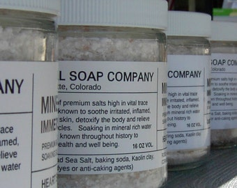 Bath Salts - Mineral Immersion Bath Bliss