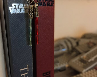 Lightsaber Dangle Earrings