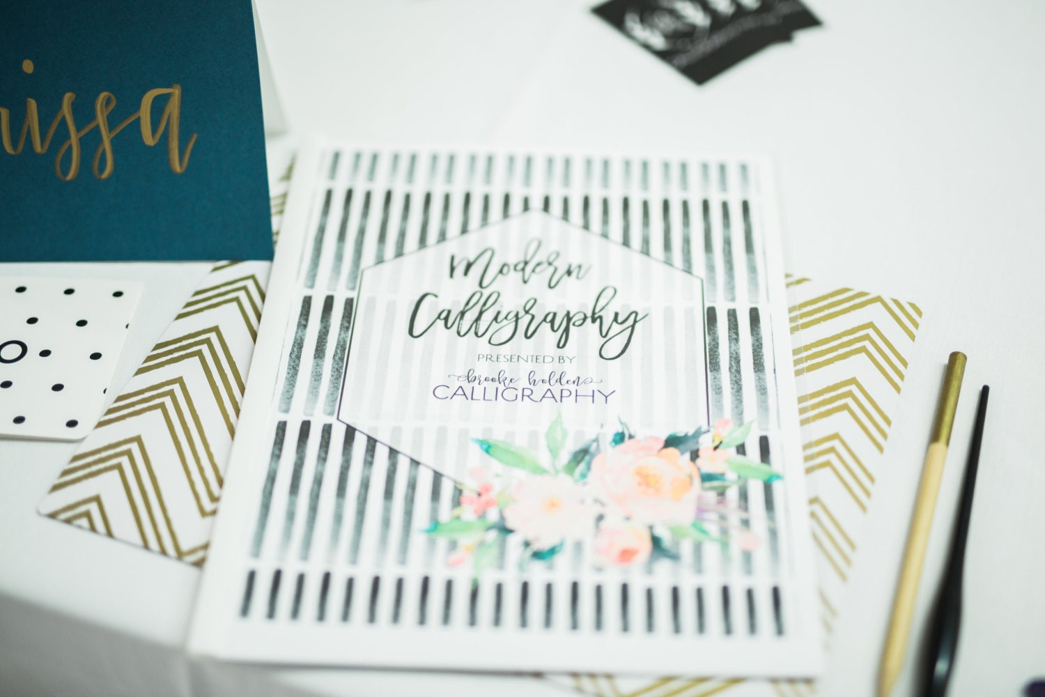 Modern calligraphy kit beginners for