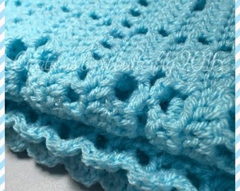 New Baby Boy Blanket
