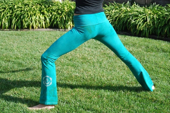 Tall Yoga Pants Extra Long Hand Dyed Yoga Pants for Tall Women by Splash Dye Activewear in Choice of ArtiZan Colors and Plus Sizes