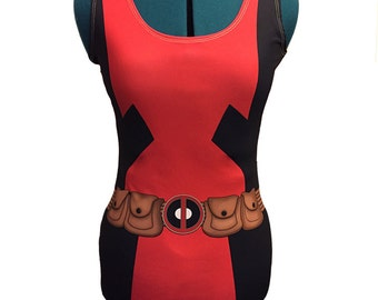 Deadpool Bodycon Dress
