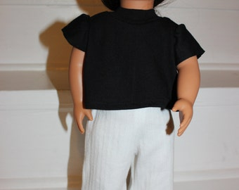 Doll Clothes,18 inch Doll Clothes,Doll pants and top,Hand Made Doll Clothes,American Made Doll Clothes,Doll Outfit