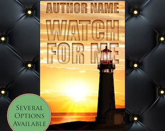 Watch For Me Pre-Made eBook Cover * Kindle * Ereader Cover