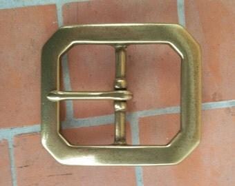 Belt buckle, buckle, buckle, solid brass