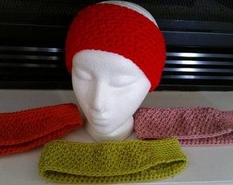 Crochet winter headbands