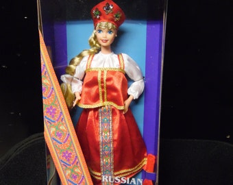 Mattel Russian Dolls of the World Collection Barbie Doll