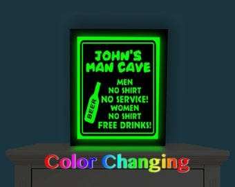 "Shop ""man cave sign"" in Lighting"