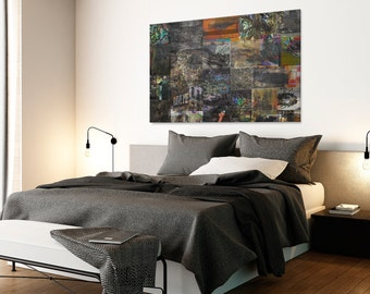 Canvas Print - GRAFFITI STREET ART - (34301)