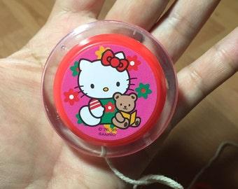 Vintage Sanrio Hello Kitty 1995 yo yo Sanrio vintage toy