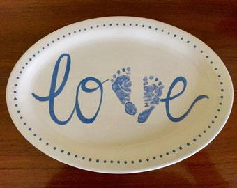 Baby Love plate