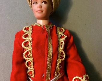 "Ken Doll Clothes, Ken Doll Wardrobe, Arabian Knights, Boy Doll Clothing, Ken Doll Outfit, 12"" Dolls, Arabian Costume, Ken Clothes, Turban"