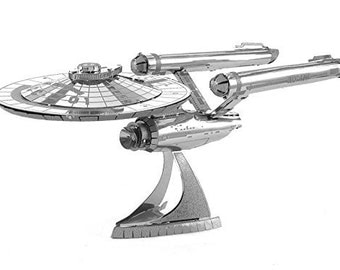 Metal Model Kit Star Trek Enterprise NCC-1701 Fascinations Metal Earth
