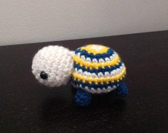 Crochet Turtle Amigurumi- Turtle Crochet Soft Toy