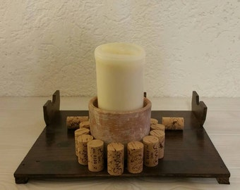 A beautiful candle holder made to order