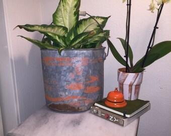 Vintage fish bucket