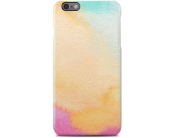 Watercolour iPhone 7 Case, iPhone 7 Plus, iPhone 6 Case, iPhone 6S Case, iPhone 6 Plus, iPhone 5S Case, iPhone 5C Case, Samsung Galaxy S7