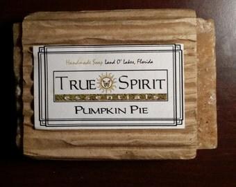 Pumpkin Pie Handmade Soap