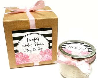 25 Bridal Shower Favors   Wedding Favors   Candle Favor   Wedding Favor Candle   Bridal Candle   Baby Shower Gift   Rustic Wedding Favor