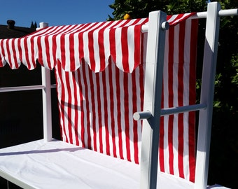 Table Top Canopy with Custom Awning