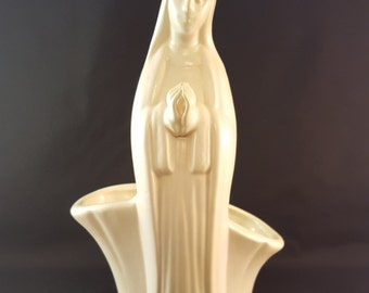 Virgin Mary / Madonna Planter or Vase