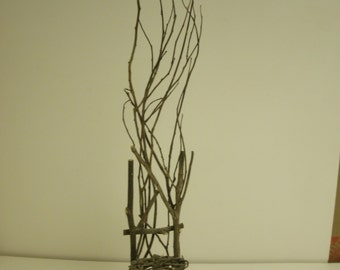 Small Art Twig Chair Delicate