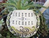 Custom Ceramic Plant Wall Pocket, Handmade, OOAK, Garden Art, Flower Vase, Air Plant, Plant Pocket, Bridesmaid Gift, Wedding, Anniversary