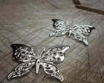 Butterfly Stampings ~2 pieces #100719