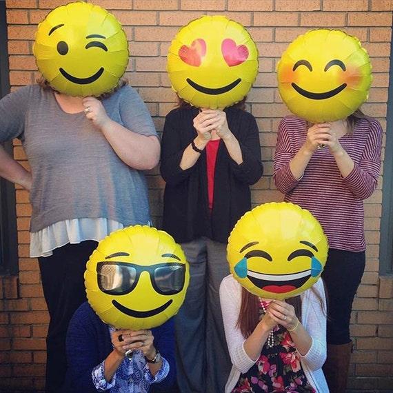 EMOJI Balloon / Emoji LoL Balloon/Emoji Love/Balloon
