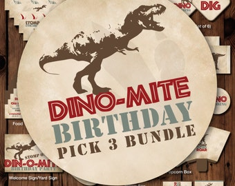 Dinosaur Printable Party, Dinosaur Printable Birthday, Dinosaur Birthday Party Decorations, Dinosaur Party Decor, Dinosaur Boy Birthday