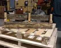 Rustic Pallet furniture wine rack