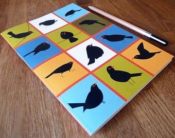 A5 Blackbird Notebook