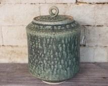 Ash Tea Jar