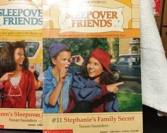 Sleepover Friends Books #10 & #11