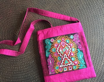 SALE - was 53.24    Handmade bags, Embroidered bags, Sling bags, Cross body Bags, Boho Bags, Kutch bags