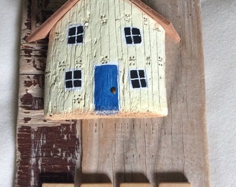 Cute and quirky, driftwood house plaque from 50th Parallel