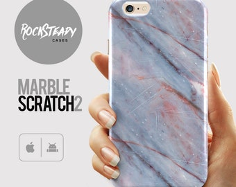 Marble Scratch Phone case, Samsung Galaxy S7, S6, S5, S4 case,  iPhone 6s Plus, 6, SE, 5S, 5C case,  abstract unique art cell phone case